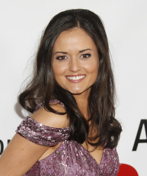 "Danica McKellar attends the premiere of ""This Is 40"" at Grauman's Chinese Theatre on Wednesday, Dec. 12, 2012, in Los Angeles. (Photo by Todd Williamson/Invision/AP)"