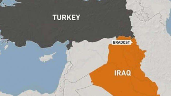 VIVA Militer: Peta tempat terjadinya serangan drone Turki di perbatasan Irak