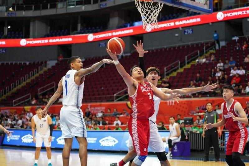 Tim Basket putra Indonesia taklukkan Kamboja 100-71