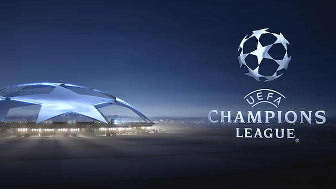 Logo Liga Champions (Ilustrasi stadion)