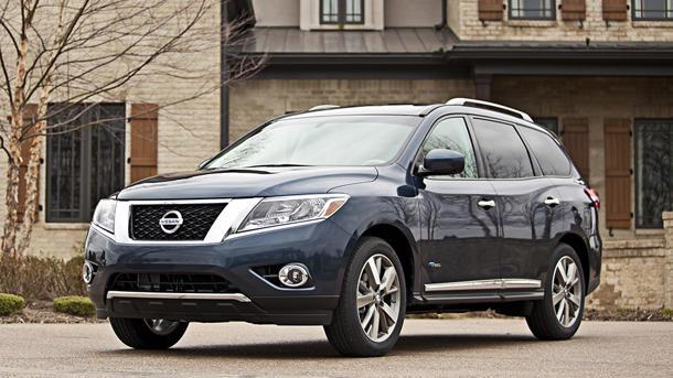 2014 Nissan Pathfinder Hybrid offers an upgrade, of sorts