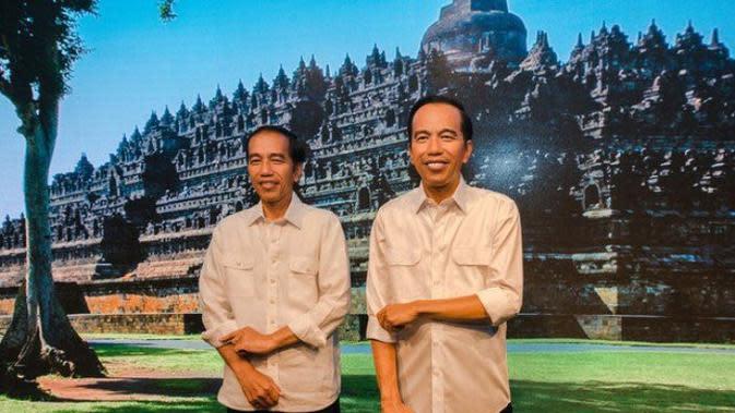 Patung lilin Jokowi di Madame Tussauds Bangkok / Credit: Istimewa