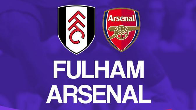 Premier League - Fulham Vs Arsenal (Bola.com/Adreanus Titus)