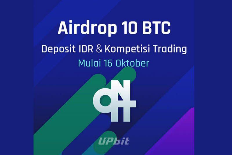 Upbit bagikan 10 Bitcoin untuk penggunanya