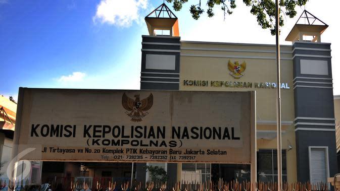 Gedung Komisi Kepolisian Nasional (Kompolnas), Jakarta Selatan. (Liputan6.com/Yoppy Renato)
