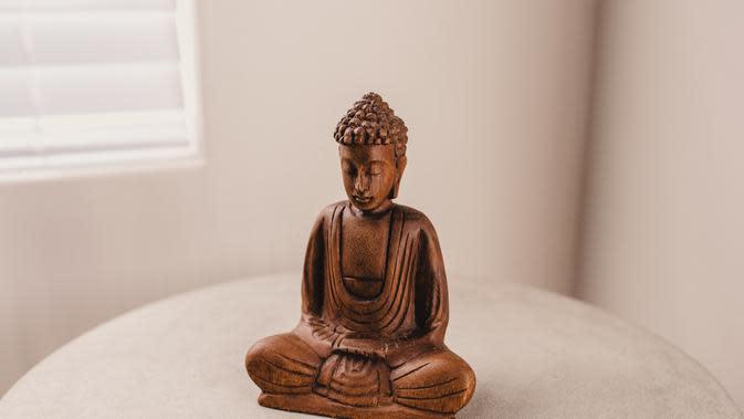 Ilustrasi Buddha (unsplash.com/Wade Lambert)