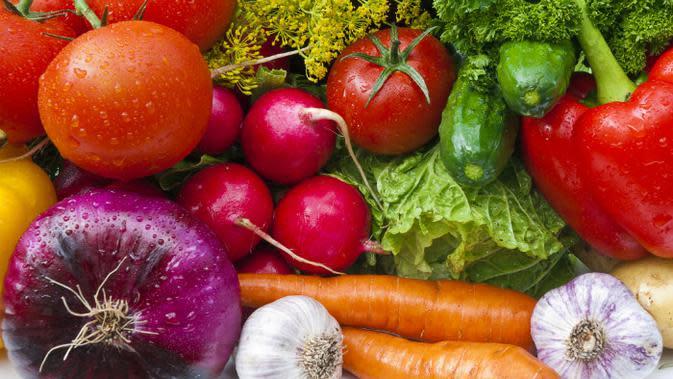 Ilustrasi sayur dan buah. (iStock)