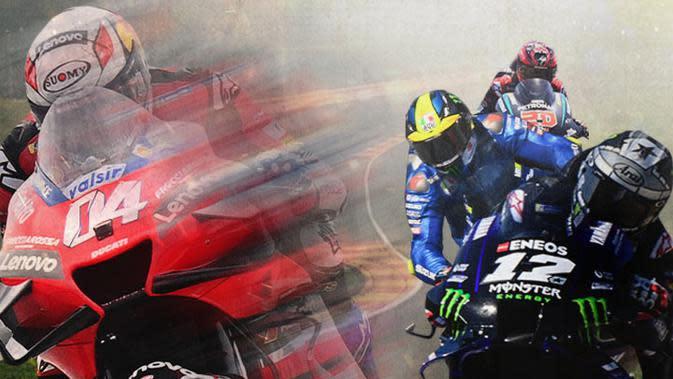 MotoGP - Bedah Kekuatan 4 Pembalap Bersaing Jadi Juara Dunia MotoGP 2020 (Bola.com/Adreanus Titus)