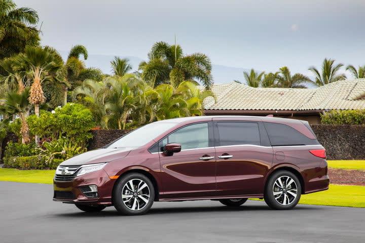 Best Minivans 2018 Honda Odyssey