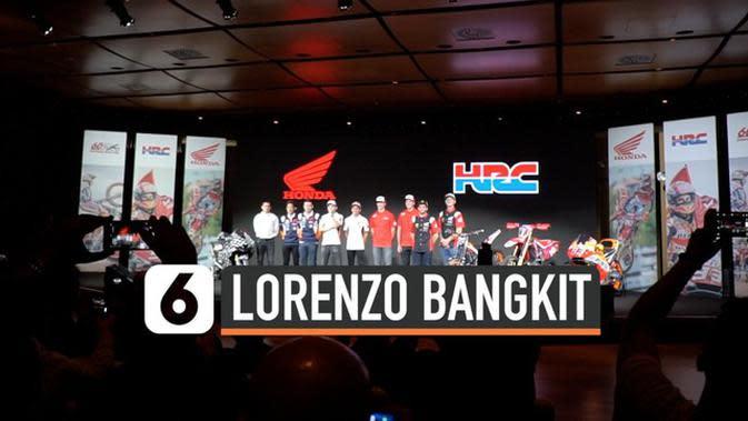 VIDEO: Jorge Lorenzo Siap Bangkit di MotoGP 2020