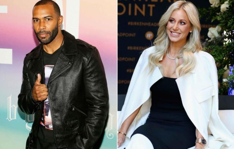 Roxy has admitted Omari Hardwick who plays James St. Patrick on Power