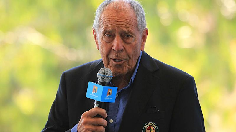 American coaching legend Nick Bollettieri at the 2015 Australian Open. (Photo by Graham Denholm/Getty Images)