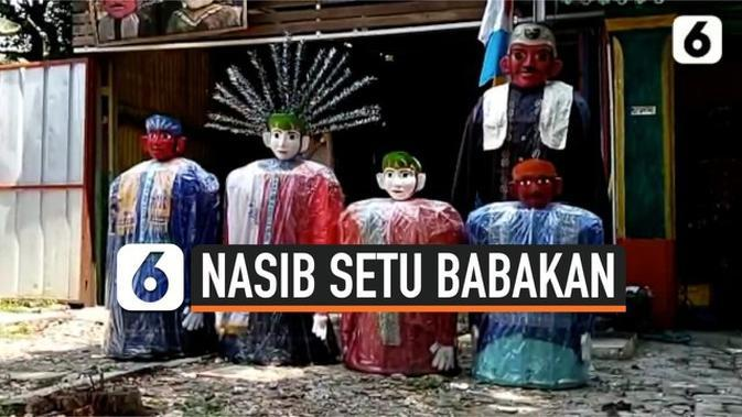 VIDEO: Suasana Sepi Setu Babakan Imbas Pandemi Covid-19