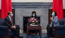 美衛生部長會見蔡英文 「傳達川普對台灣強力支持」