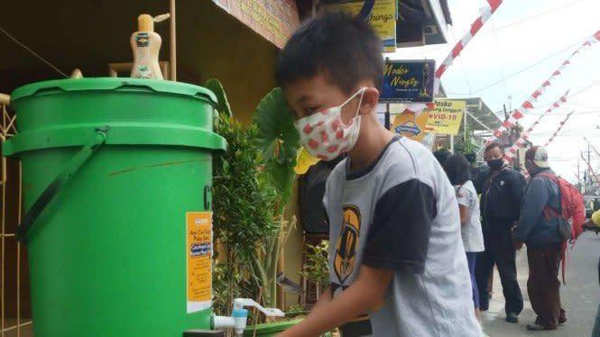 COVID-19 di Kota Malang Turun Drastis, karena Warga Tertib Bermasker