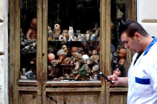 The Squatritis opened the little shop of doll horrors in 1953, initially with the idea of restoring valuables belonging to wealthy families