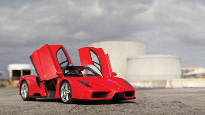 Ferrari Enzo ini diharapkan mampu terjual pada rentang harga antara US$ 4-6 juta atau sekitar Rp 53,6 sampai 80,4 miliar.