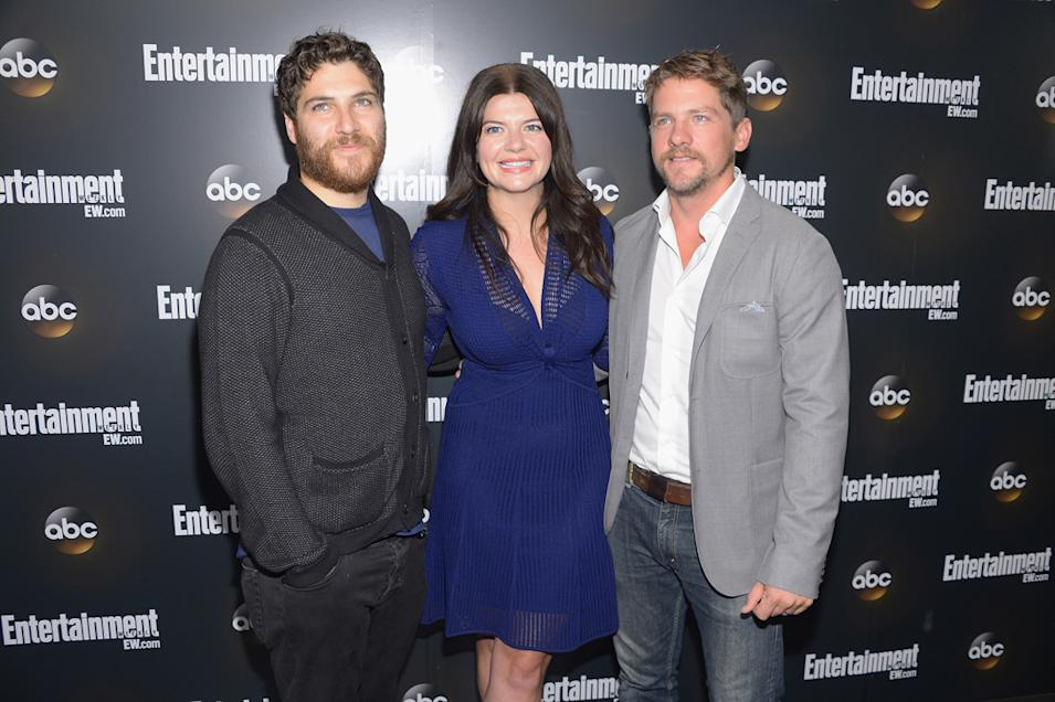 Adam Pally, Casey Wilson and Zachary Knighton