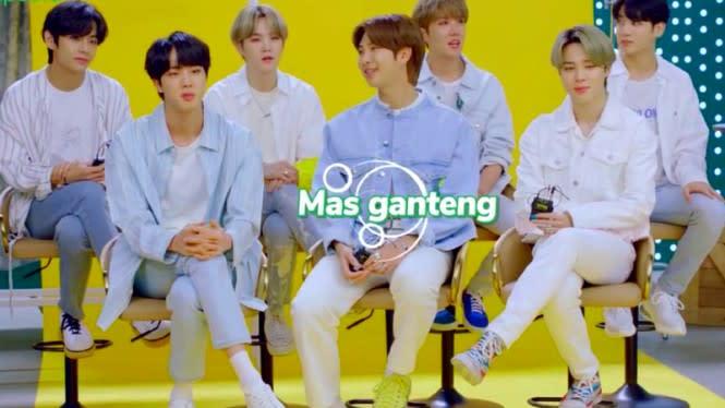 Ekspresi Lucu Member BTS saat Jin dipanggil Mas Ganteng