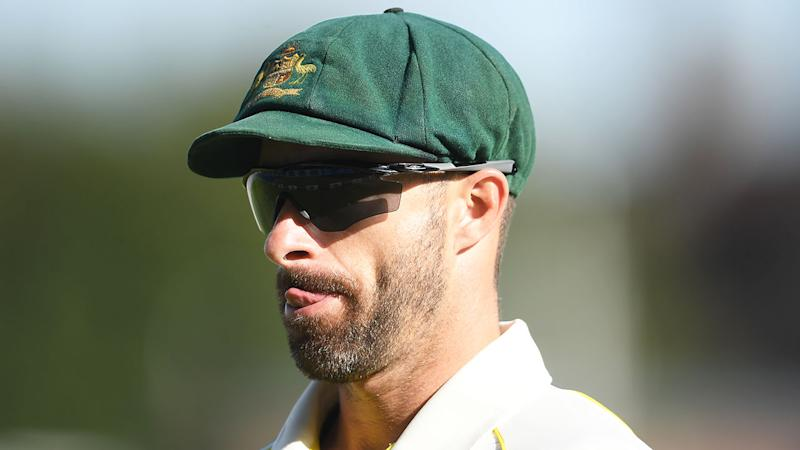 Matthew Wade was involved in the day three sledging of England.