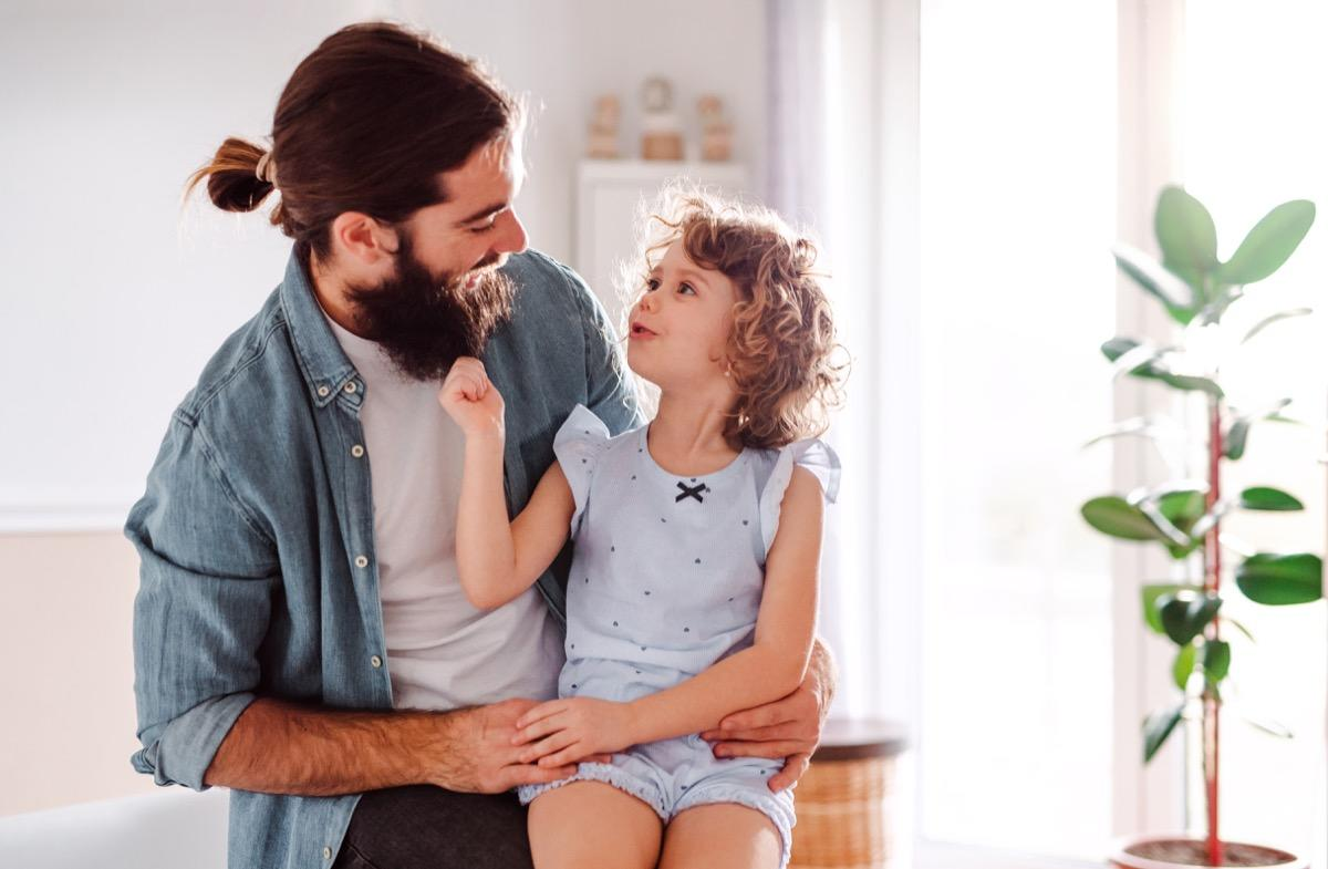 """Turns out, your kids are probably so good at lying that they're even fooling you. A 2017 study published in the journal <a href=""""http://psycnet.apa.org/record/2016-46793-001"""" target=""""_blank""""><em>Law and Human Behavior</em></a> found that adults are only able to identify when a kid is lying to them in 47 percent of instances. That means you're falling for the lies kids say more than half of the time!  Let's see if we can change that by breaking down some of the most common lies kids tell that parents can't help falling for. You might laugh at some of these, but there are bound to be one or two that make you realize, """"Uh oh, I think they got me.""""      <div class=""""number-head-mod number-head-mod-standalone"""">         <h2 class=""""header-mod"""">                     <div class=""""number"""">1</div>             <div class=""""title"""">""""If we get a dog, I promise I'll take it for walks and feed it.""""</div>                     </h2>     </div>"""