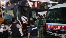 網民中秋日多區示威警共拘87人 部分人仍被扣查
