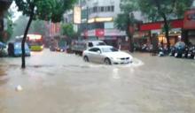 淹水災情頻傳!「豪雨狂灌北市」開設一級災害中心