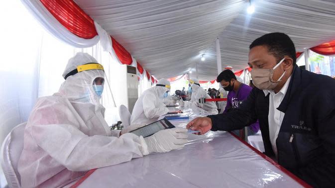 BIN perpanjang giat rapid test massal di Surabaya sampai 15 Juni.