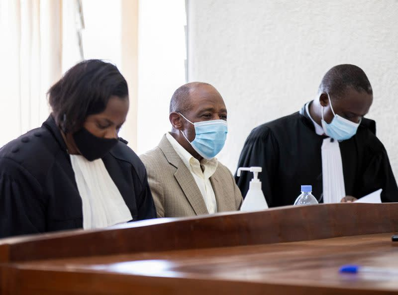 'Hotel Rwanda' hero denied bail during terror trial