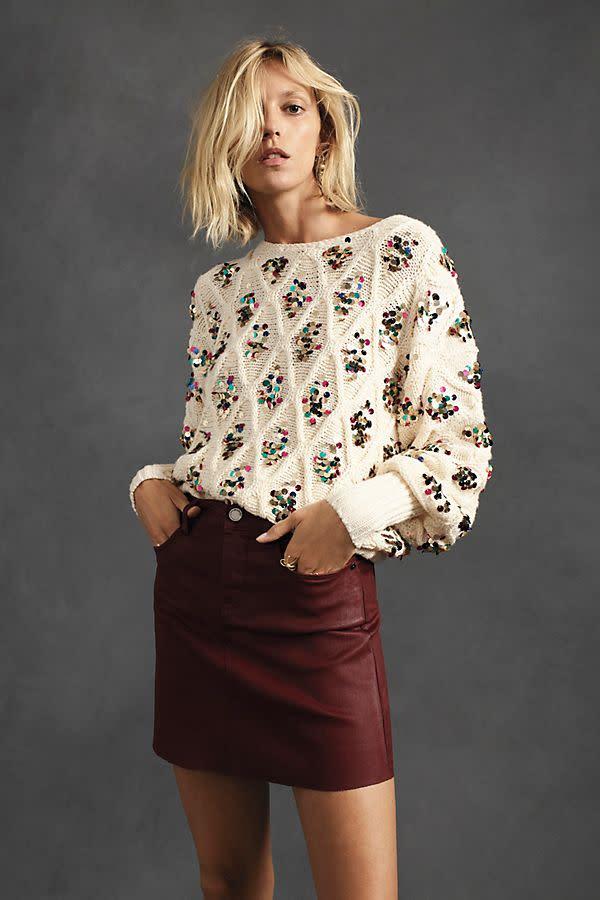 Lara Sequined Sweater