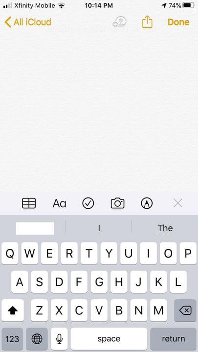 how to scan documents with your iphone scannote1