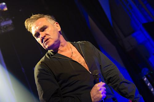 Morrissey Diagnosed With Bleeding Ulcer
