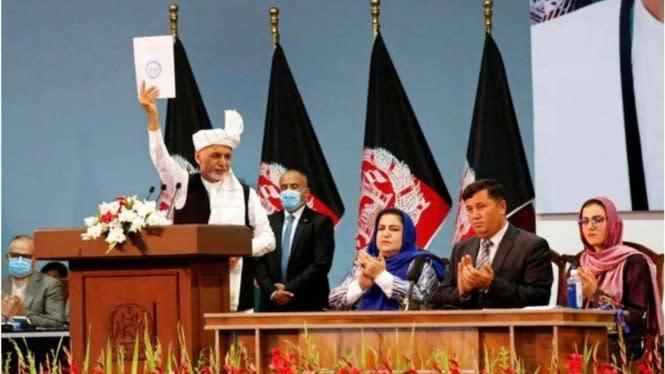 Amerika Tarik Pasukan, Afghanistan Bebaskan 400 Tahanan Taliban