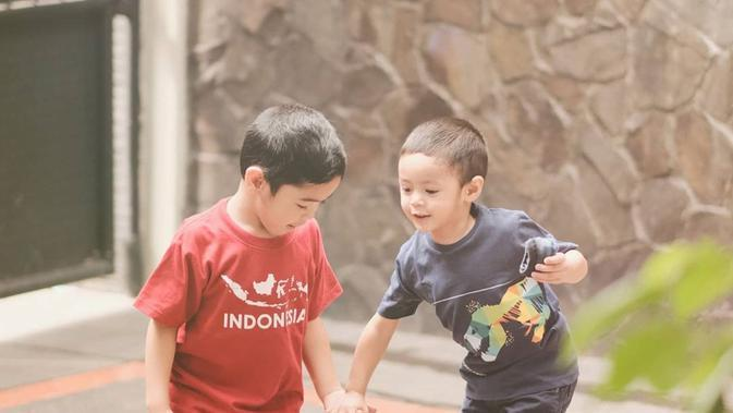 Potret Kompak Buah Hati Alyssa Soebandono. (Sumber: Instagram.com/ichasoebandono)