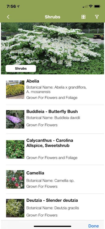 """<p>With this mobile app, you get tons of knowledge from a respected authority at your fingertips for a few dollars. Allan Armitage, PhD, professor emeritus of horticulture at the University of Georgia, offers a look at exactly what landscape, ornamental (and even houseplants!) you should choose for any garden setting. You'll also learn about solutions for hungry deer, pest control, and native plants. <br></p><p><a class=""""body-btn-link"""" href=""""http://www.allanarmitage.net/dr-as-app-for-ios-androids"""" target=""""_blank"""">GET THE APP</a></p>"""