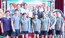 南市議會代表隊傳捷報 勇奪全國議長盃桌球賽職員工男子團體冠軍