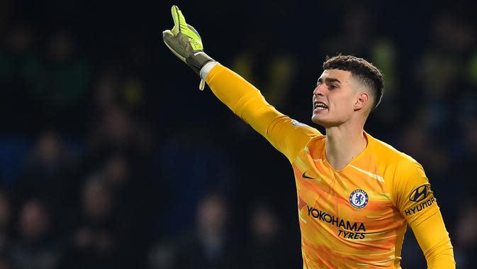Chelsea ingin buang Kepa Arrizabalaga (AFP/Glyn Kirk)