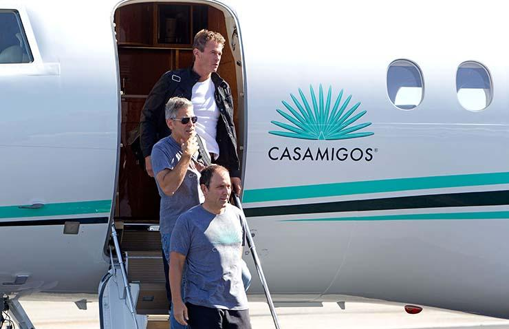 Five Miles Up: Where Rande Gerber travels with Crawford and Clooney