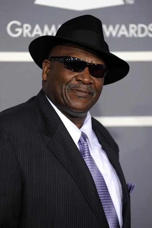 FILE - In this Feb. 8, 2009, file photo, Taj Mahal arrives at the 51st Annual Grammy Awards, in Los Angeles. The artist known as Taj Mahal, who has played an average of 125 concerts a year since 1968, turns 70 somewhere on the road between Kansas and Colorado in May. But his next stop is Alaska, a place he first visited sometime in the 1970s and a place he has returned routinely since. Two things keep him coming back: the fish and the widespread appreciation for a musician who travels this far north and stops somewhere besides Anchorage. (AP Photo/Chris Pizzello, File)
