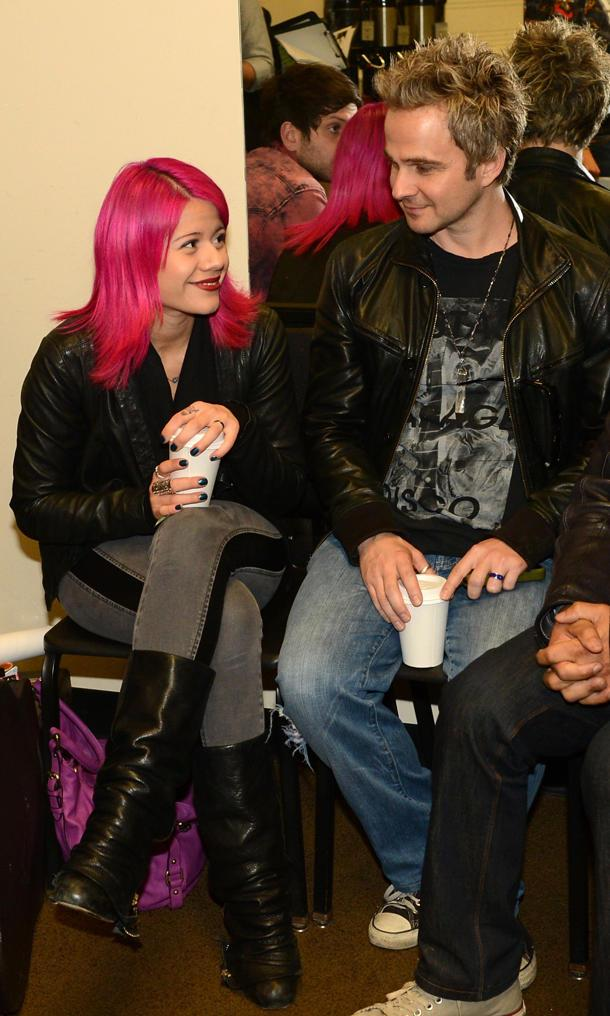 Idol Allison Iraheta Marries Halo Circus Bandmate Matthew Hager