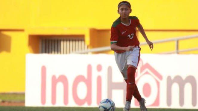 Striker timnas wanita Indonesia, Zahra Muzdalifah