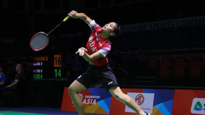 Kejuaraan Bulutangkis Asia Beregu 2020: Gregoria Mariska Beri Angka Pertama untuk Indonesia