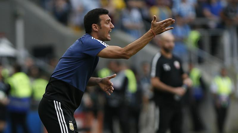 Argentina boss Scaloni hails 'best performance' in Germany draw