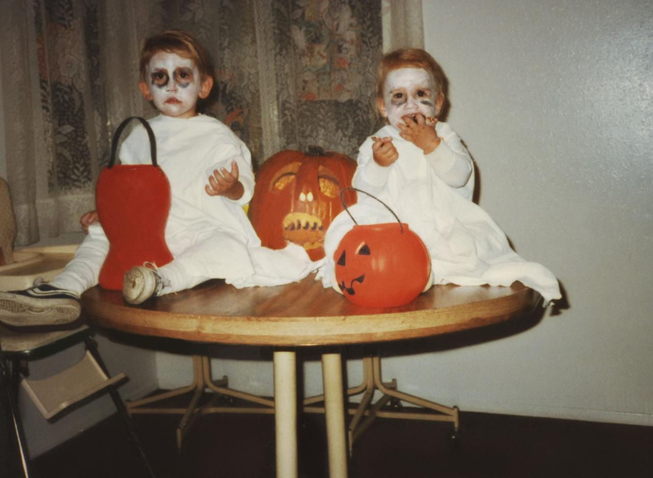 """<p>Today, we associate October 31 with candy, <a href=""""https://www.countryliving.com/diy-crafts/g4571/diy-halloween-costumes-for-women/"""" target=""""_blank"""">costumes</a>, and spooky <a href=""""http://www.countryliving.com/diy-crafts/how-to/g1024/do-it-yourself-halloween-decorations-1010/"""" target=""""_blank"""">Halloween decorations</a>. But have you ever thought about <a href=""""https://www.countryliving.com/entertaining/a40250/heres-why-we-really-celebrate-halloween/"""">why we really celebrate Halloween</a> in the first place and how the ghoulish holiday has evolved over the years? You may also be wondering how the custom of <a href=""""https://www.countryliving.com/life/kids-pets/a23932768/what-time-does-trick-or-treating-start/"""" target=""""_blank"""">trick-or-treating</a> originally came to be, as well as what characters people used to dress up as back in the day. Believe it or not, there's a lot of info about vintage Halloween you might not know, like the fact that party planning in the early 1920s would start as early as August, or that apple-bobbing emerged as a popular All Hallow's Eve pastime (and superstitious matchmaking opportunity!). We took a look back at Halloween fads from every year within the past century, starting with 1916 and working up to present day. Whether you're interested in learning about the haunted occasion the year you were born or just want to curb your Halloween curiosity, take a zombie crawl down memory lane with every tradition, fun fact, and pop culture inspiration that's emerged from October 31. Ready for a spooky look back at the history of Halloween in America? Read on, if you dare.<br></p>"""