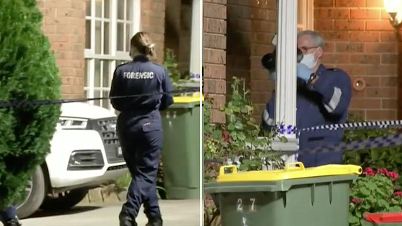 Police are investigating the deaths of a man and woman in Melbourne. A child was also found at the scene, unharmed. Source: 9NEWS.