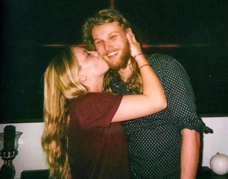 Murdered couple, Australian man Lucas Fowler (right) and his girlfriend, American Chynna Deese (left).