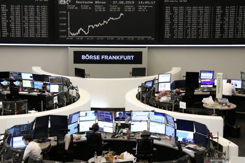 Bursa saham Jerman berakhir menguat, Indeks DAX terangkat 148,42 poin