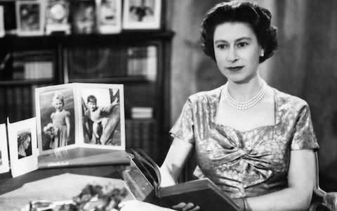 Queen 1957 - Credit: PA