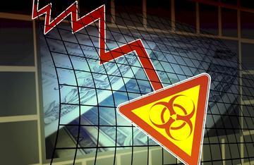 COVID-19(武漢肺炎)疫情延燒全球。武漢肺炎、紓困、觀光、製造業、經濟、股市、美股、亞股、歐股。(pixabay圖庫)