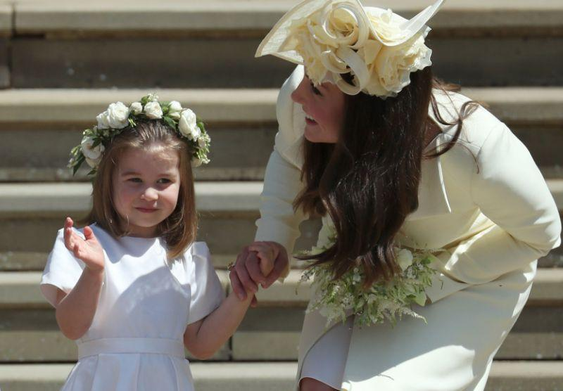 Reports suggested Kate was left in tears after a dress fitting for Meghan's wedding.